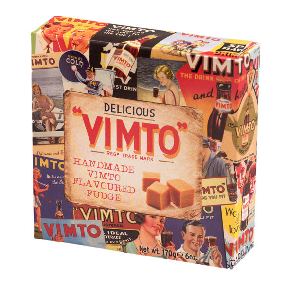 *Gardiners Handmade Vimto Flavoured Fudge (carton) (ON SPECIAL!)